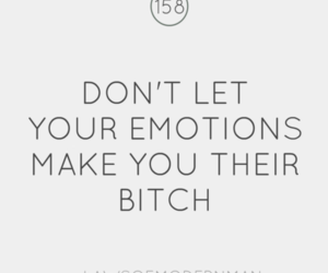 bitch, emotions, and text image