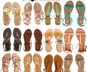 sandals and summer image