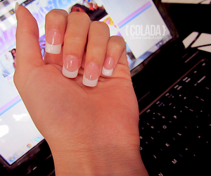 nails, glmaour, and pretty image