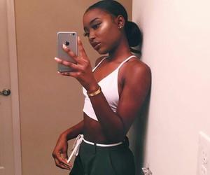 beauty, black beauty, and black girls image