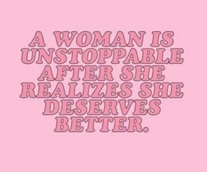 woman, pink, and quotes image