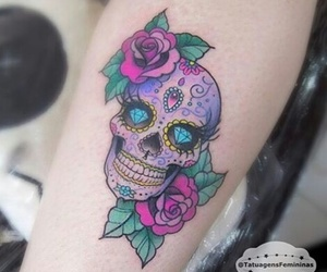 colors, flowers, and mexican image