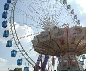 funfair, Stuttgart, and folk festival image