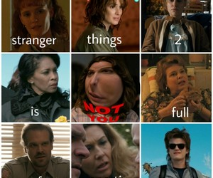 eleven, winona ryder, and stranger things image