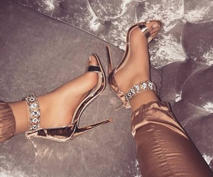 heels, luxury, and fashion image