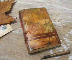 etsy, handmade, and leaves image