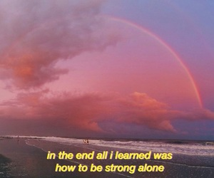 aesthetic, alone, and broken heart image