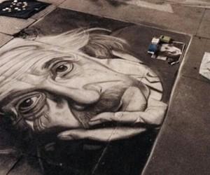 arte, blanco y negro, and calle image