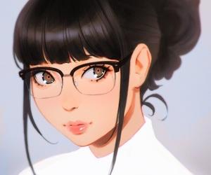 anime girl, deviantart, and tumblr image