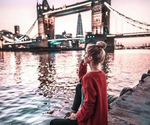 city, london, and fashion image