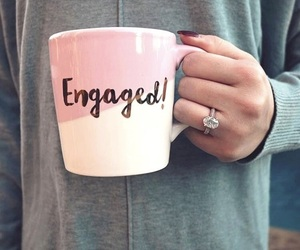 bride, engaged, and engagement image