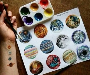 art and planets image