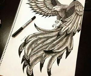 art, creative, and sketch image