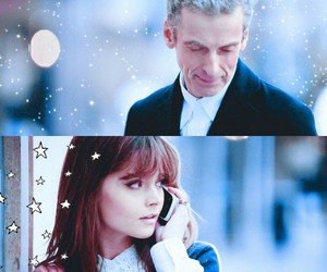 doctor, doctor who, and clara oswald image