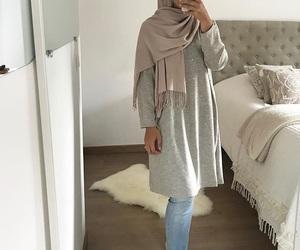 bedroom and hijab image