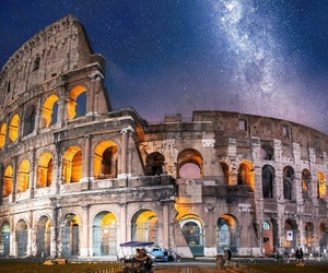 italy, lights, and night image
