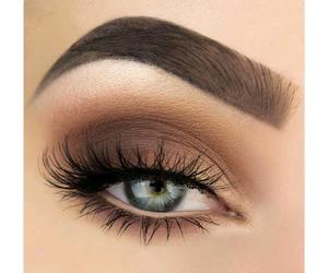 brown, eyelashes, and gold image
