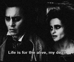 johnny depp, life, and helena bonham carter image