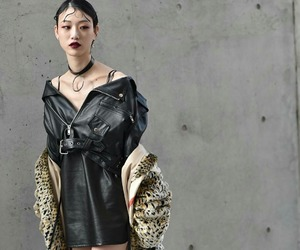 SFW, street style, and korean model image