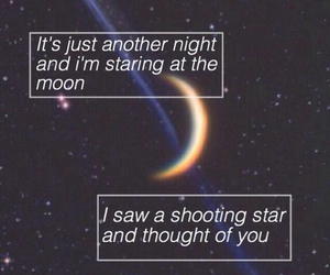 stars, moon, and ed sheeran image