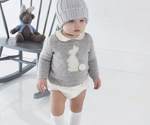 babies, Blanc, and enfants image