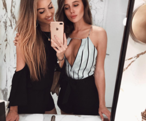 besties, fashion, and girls image