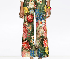 clothes, flowers, and garden image