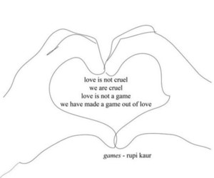 love, quotes, and rupi kaur image