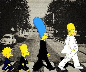 art, the simpsons, and cartoon image