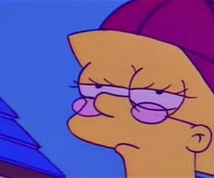 hipster and the simpsons image