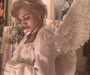 angel, beautiful, and blonde hair image