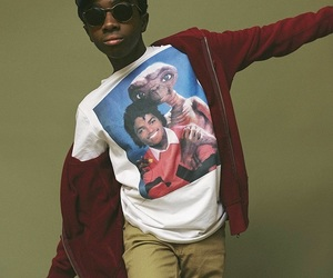 stranger things and caleb mclaughlin image