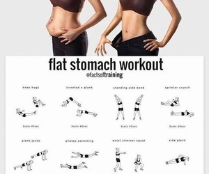fitness, stomach, and healty image
