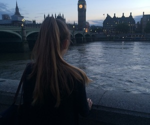 Big Ben, evening, and london image