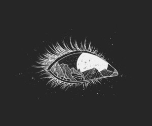 eye, art, and black image