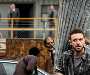 aaron, twd, and ross marquand image