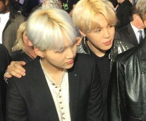 bts, yoonmin, and jimin image
