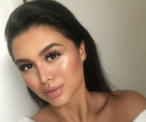 beauty, highlighter, and make up image