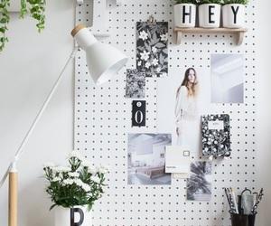 desk, decor, and design image