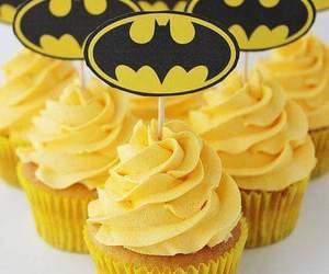 batman, cupcakes, and dc comics image