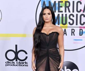 demi lovato, dress, and amas‬ image