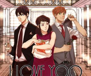 i love yoo, shin ae, and webtoon image