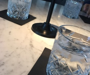 crystal, drinks, and marble image