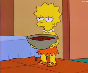 funny, the simpsons, and lisa simpson image