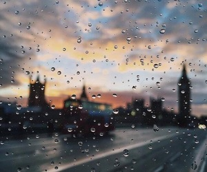 rain, beautiful, and city image
