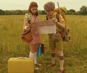 moonrise kingdom, wes anderson, and vintage image