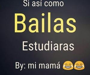 bailarina, baile, and bailar image