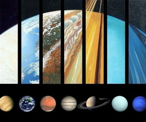 planet, earth, and galaxy image