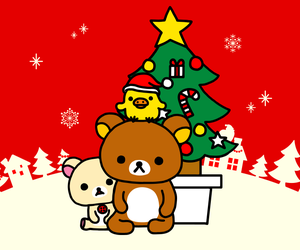 bear, christmas, and holiday image