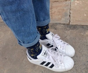 adidas, grunge, and aesthetic image